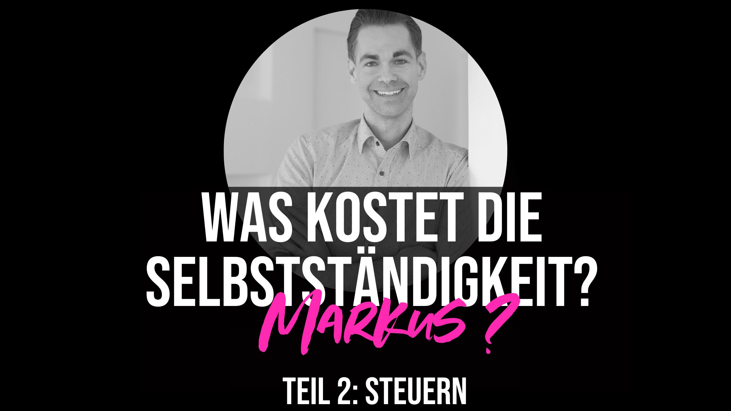 Anwalt Markus erklärt Steuern