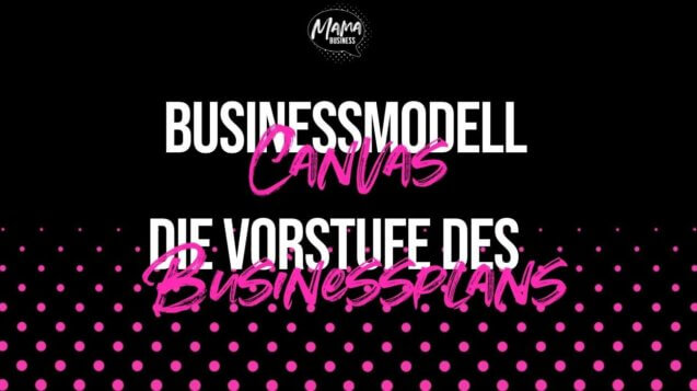 businessmodell canvas