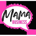 MAMA BUSINESS LOGO mit Punkten