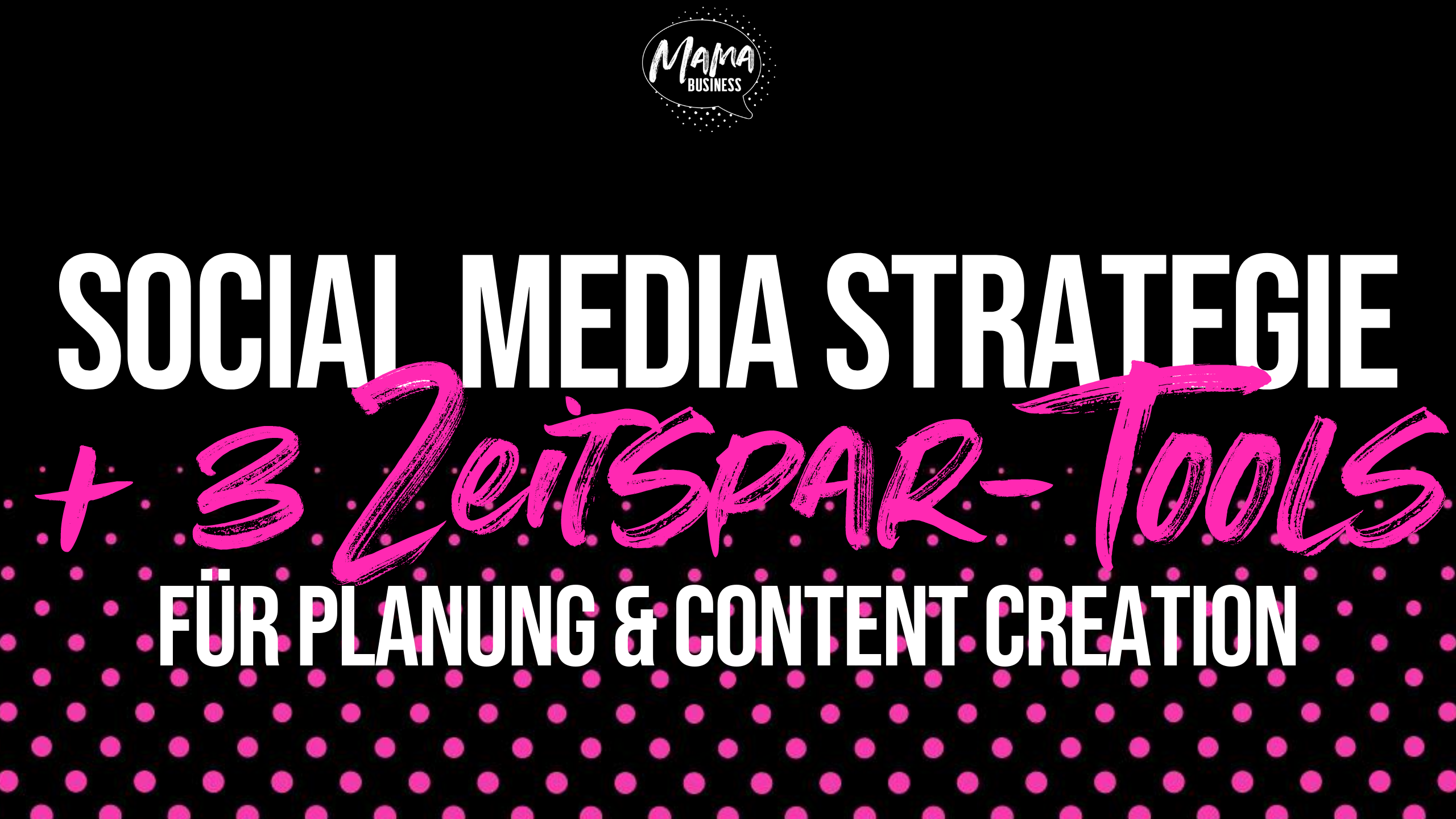 Social Media Strategie und Content Creation