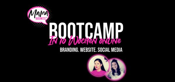 Dein 10 Wochen Bootcamp für Branding, Social Media & Homepage