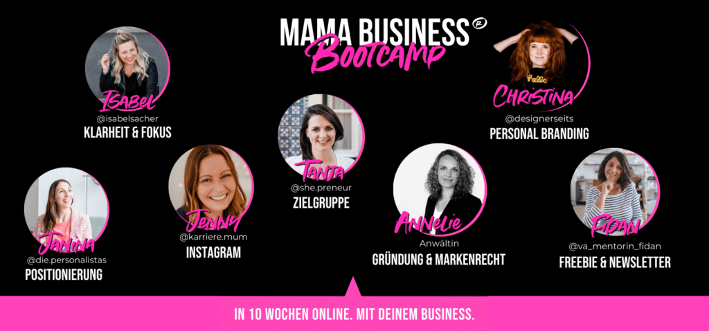 special guests mama business bootcamp