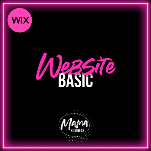 mama business website basic mit wix
