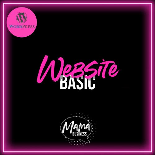 mama business webiste basic wordpress