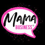 logo mama business punkte schwarz