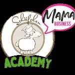 Kooperationslogo Mama business und schaefchen akademie