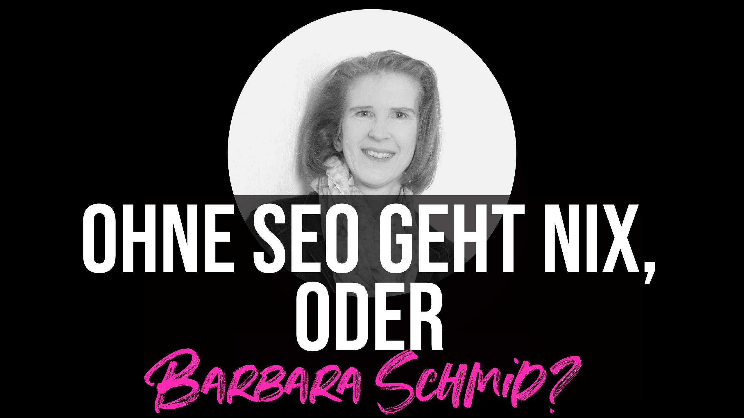 SEO Tipps von Barbara Schmid